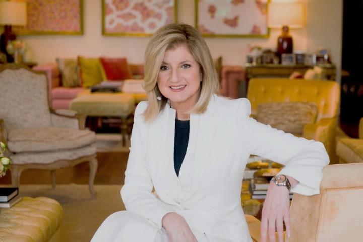 """Die """"Huffington Post""""-Verlegerin und Parade-Karrieristin Arianna Huffington predigt Auszeiten während der Arbeitszeit und begrüßt das """"Social freezing""""-Angebot amerikanischer Firmen als innovativeIdee"""