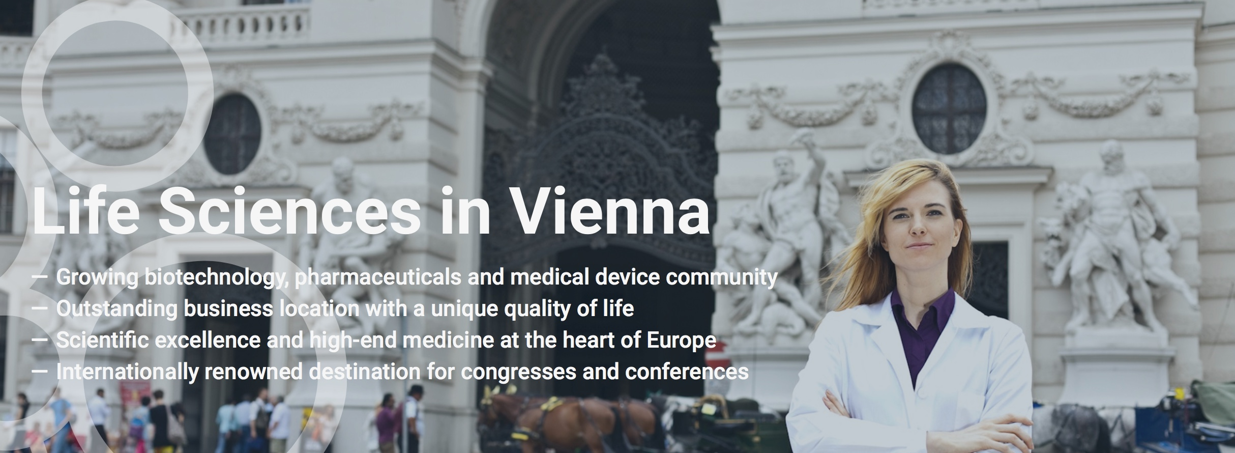 Driven by curiosity, inspired by our city…   LISAvienna – Connecting Life Sciences