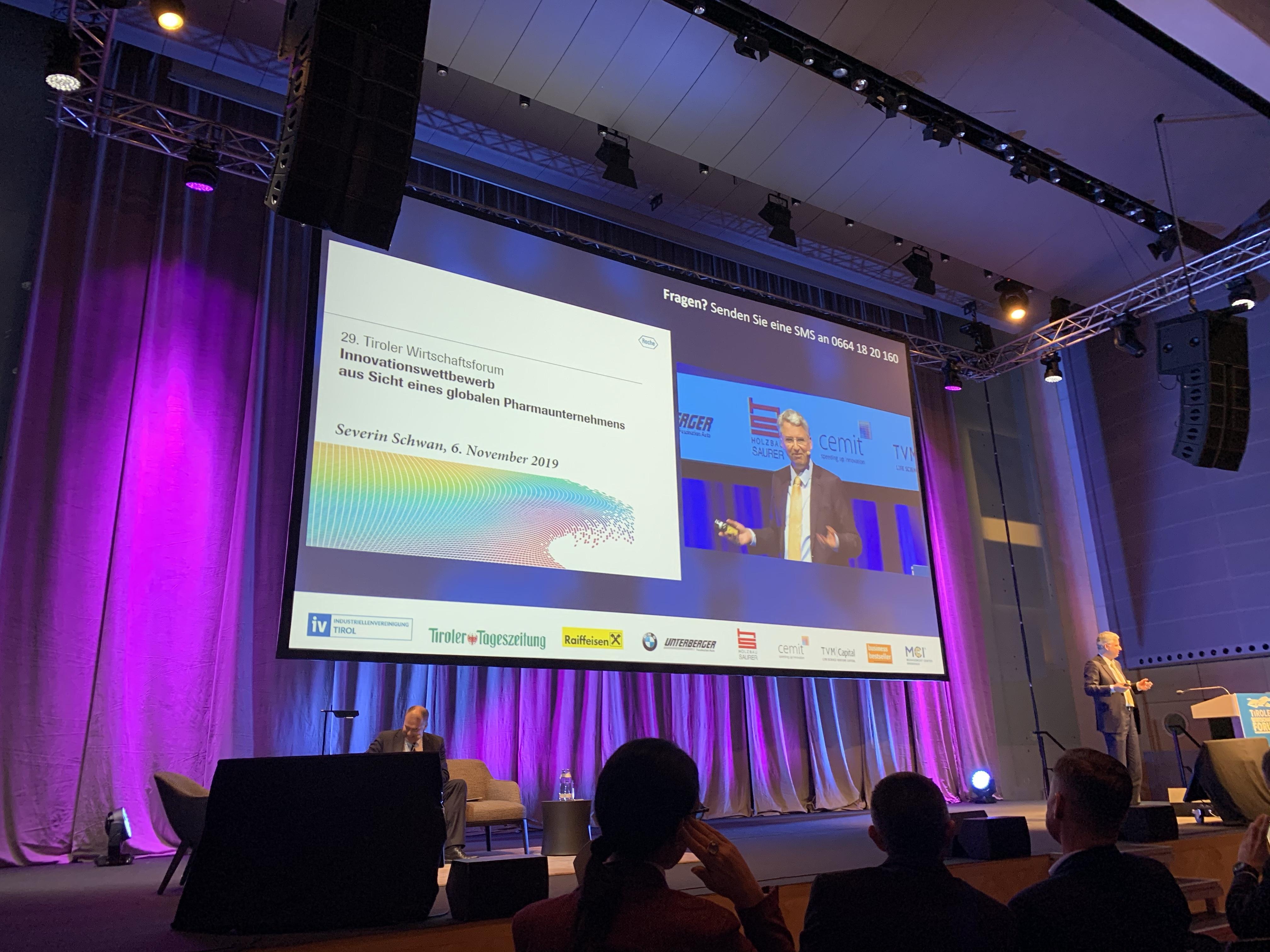 Tiroler Wirtschaftsforum: Forschung für ein schönes Leben